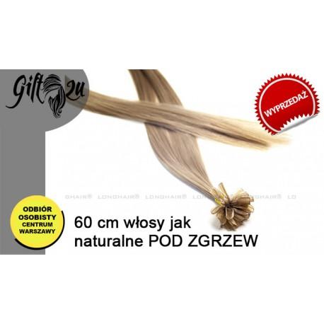 Włosy Jak Naturane do 60 cm pod zgrzew - 22utip20term